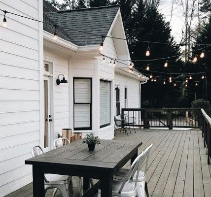 Beef Up Your Back Porch